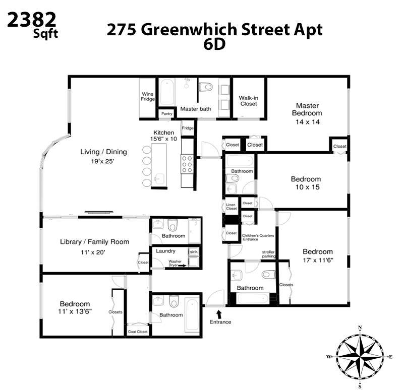 275 Greenwich Street Tribeca New York NY 10007