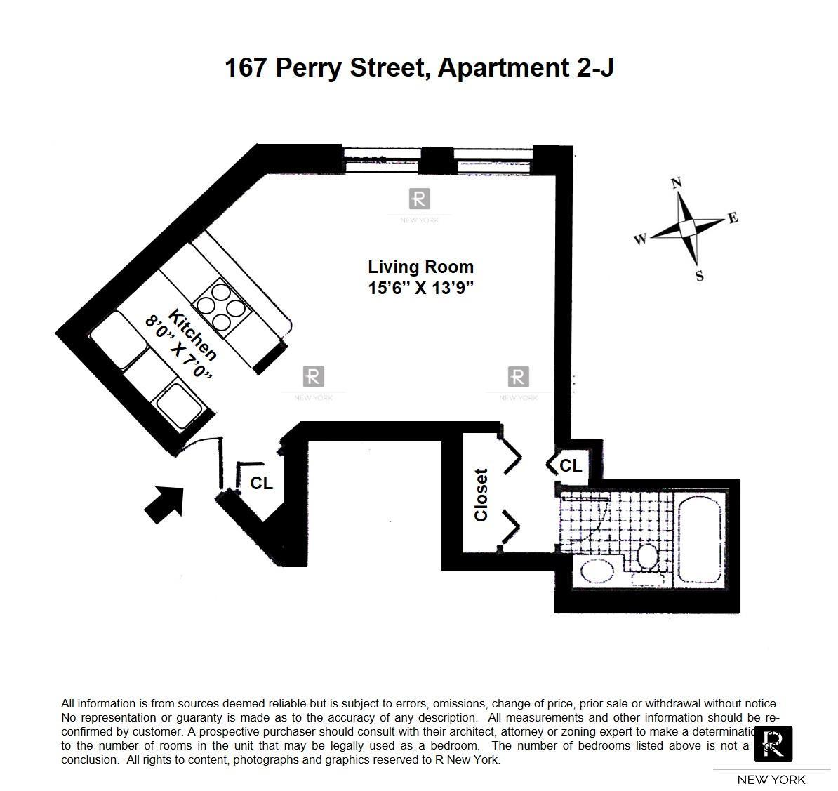 167 Perry Street W. Greenwich Village New York NY 10014