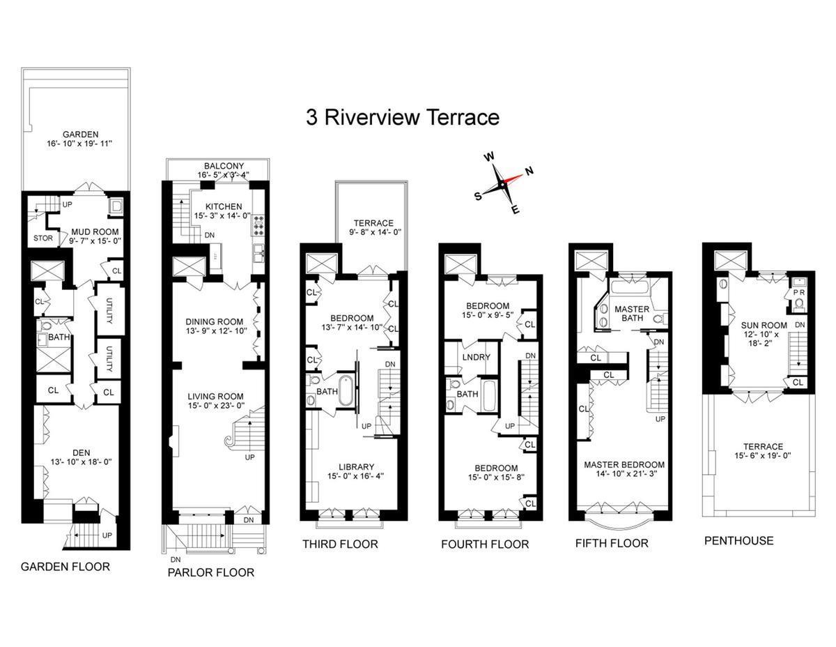 3 Riverview Terrace Sutton Place New York NY 10022