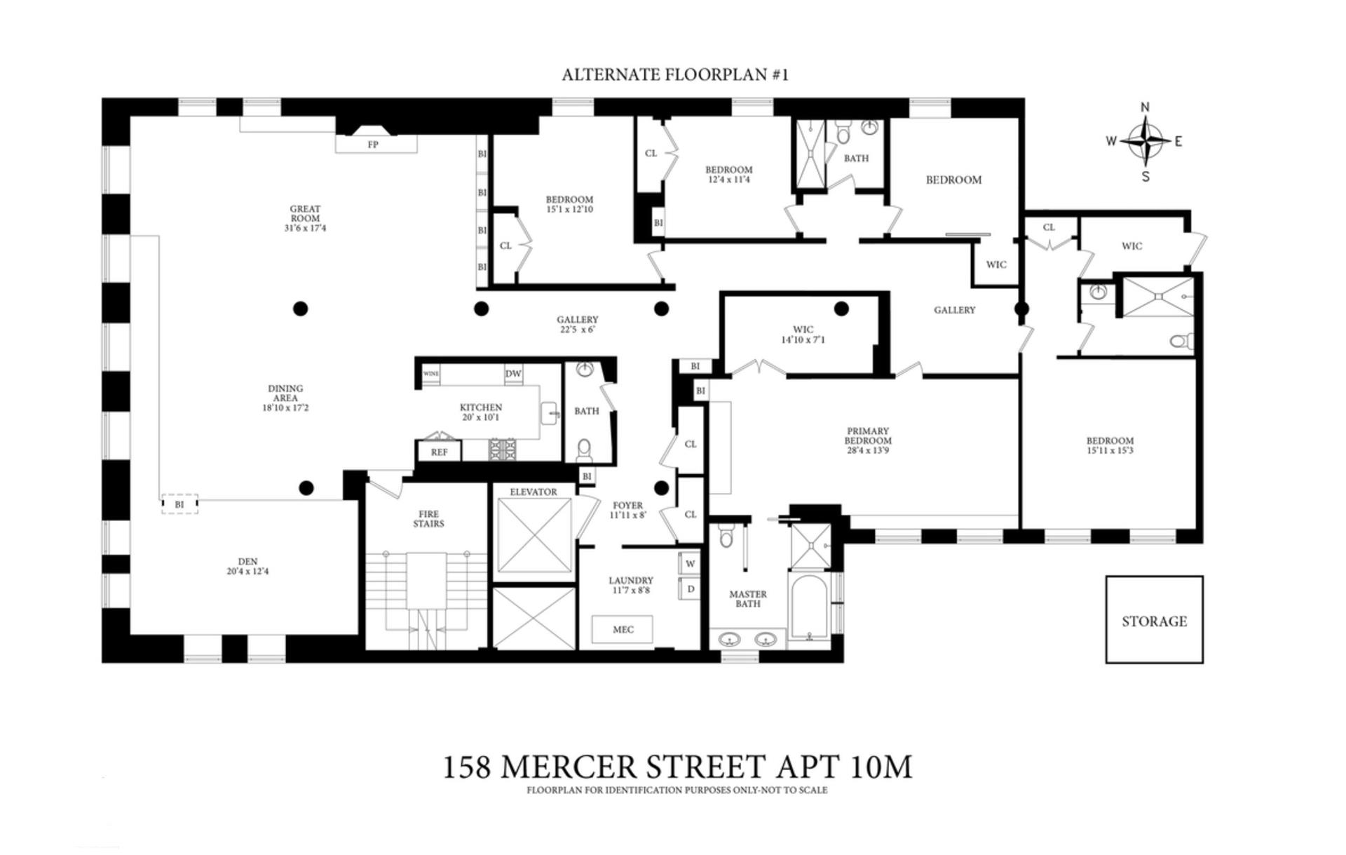 158 Mercer Street Soho New York NY 10012
