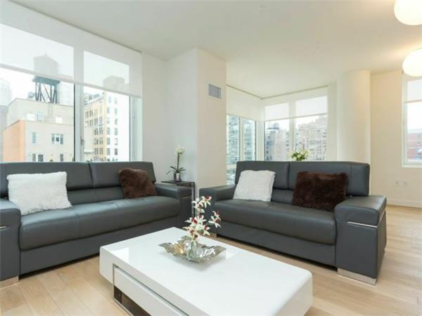 Beautifully Furnished 2 bed/2 bath in Luxury Building