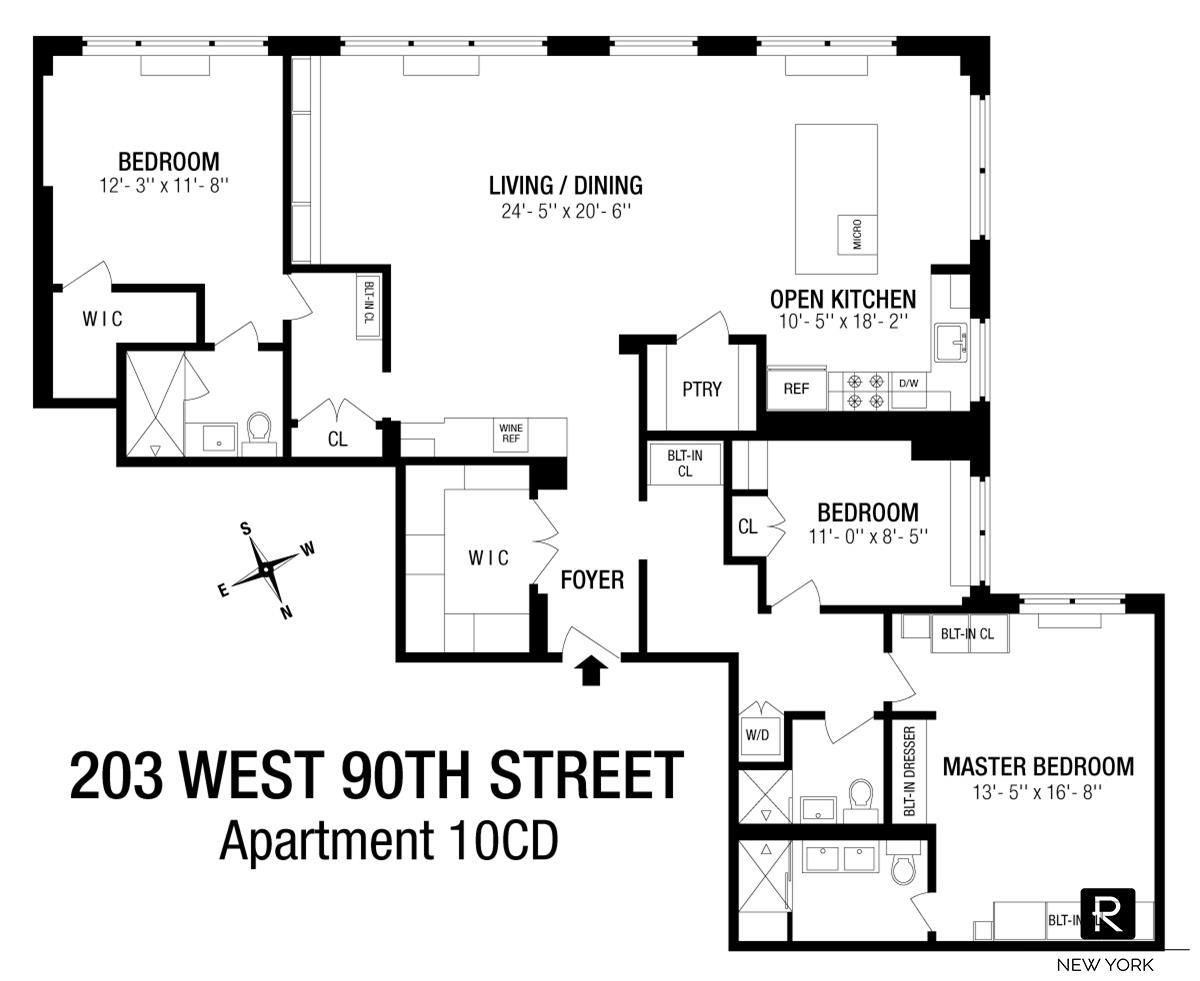 203 West 90th Street Upper West Side New York NY 10024