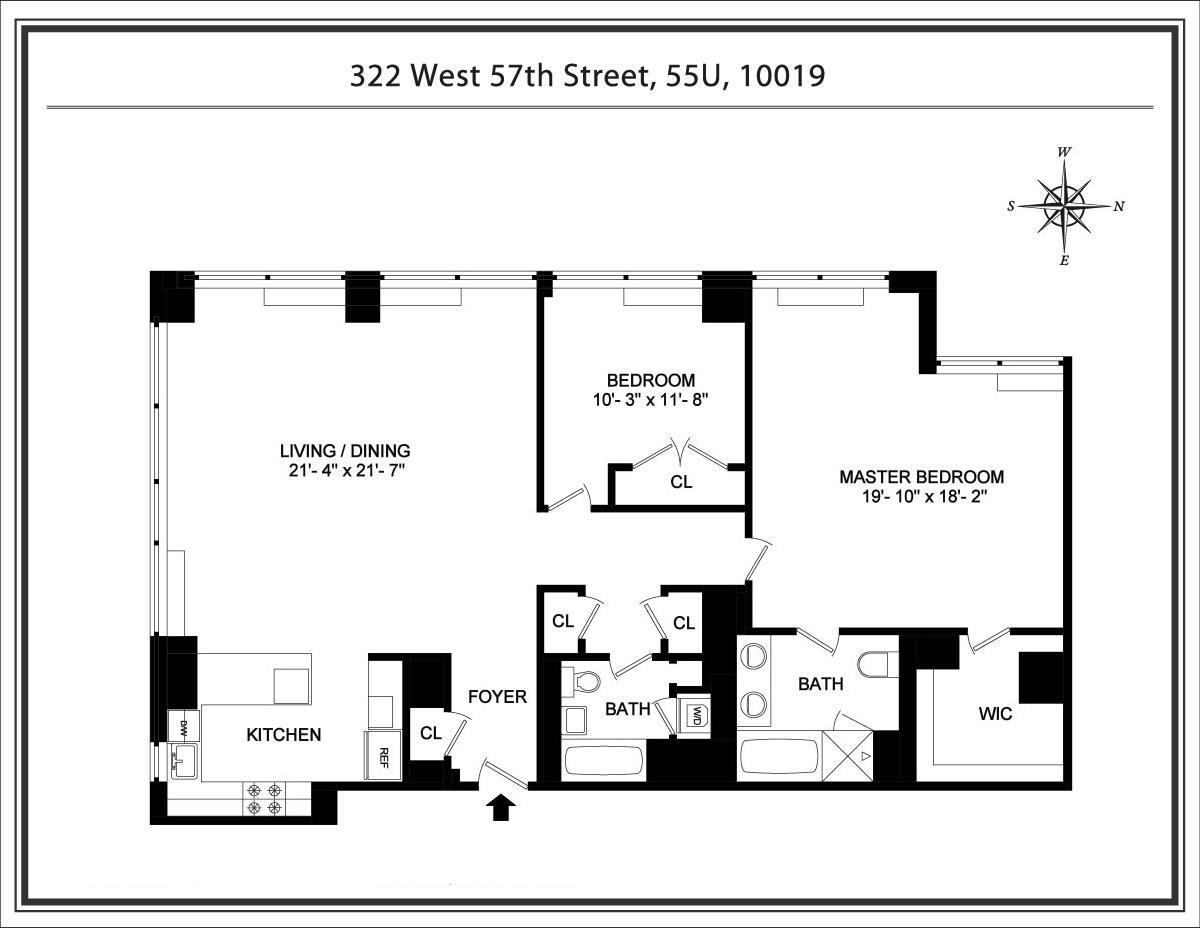 322 West 57th Street Midtown West New York NY 10019